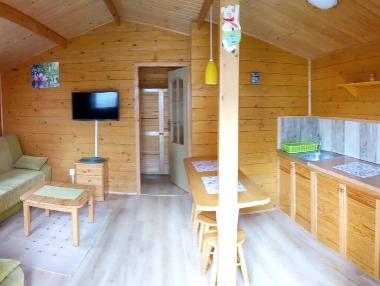 Domki w Polańczyku 350 m od jeziora
