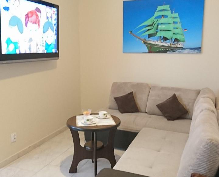 Apartament Lux - sypialnia