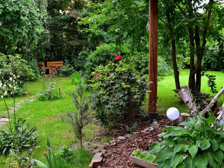 Piękny ogród :)