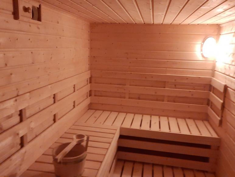 sauna 8-9 osób
