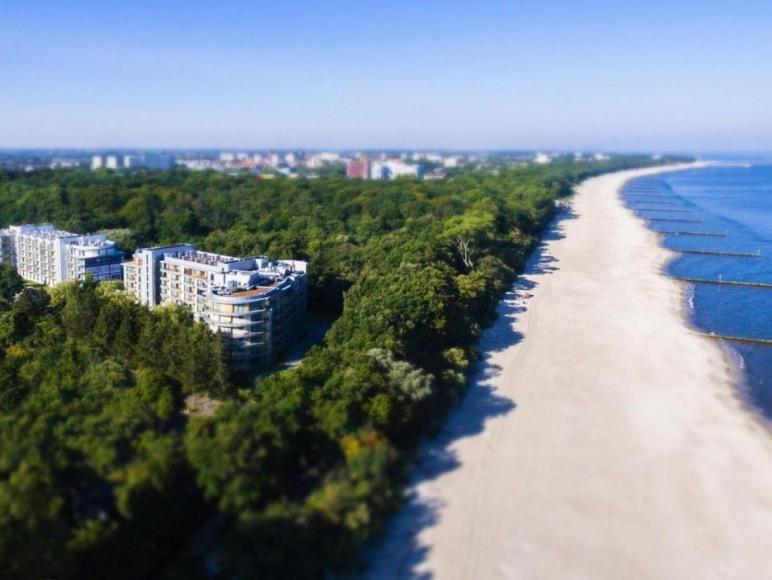 Wspaniała, piaszczysta plaża