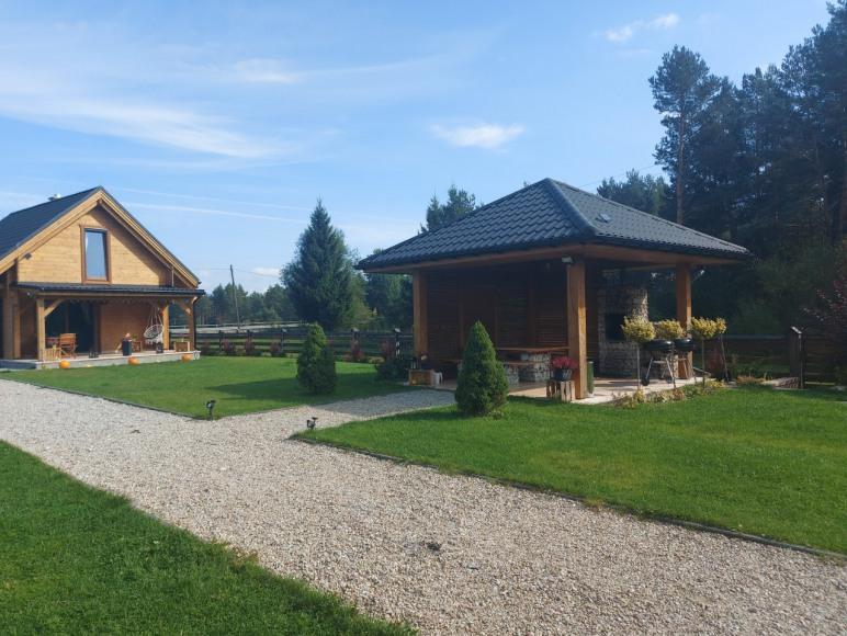 Domek nad Jeziorem Czorsztyńskim
