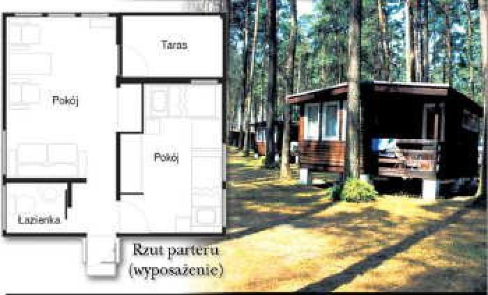 domek 3-4 osobowy Standard i Komfort