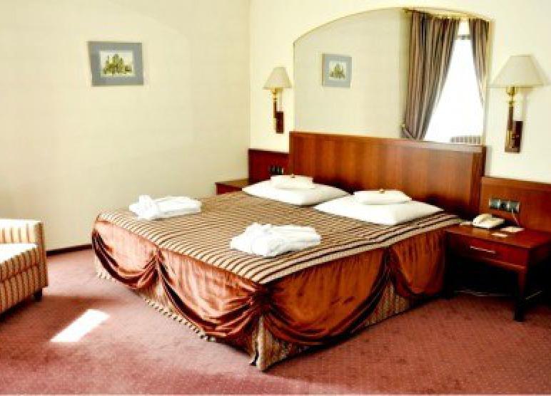 Główna sypialnia w Apartamencie Prezydenckim.