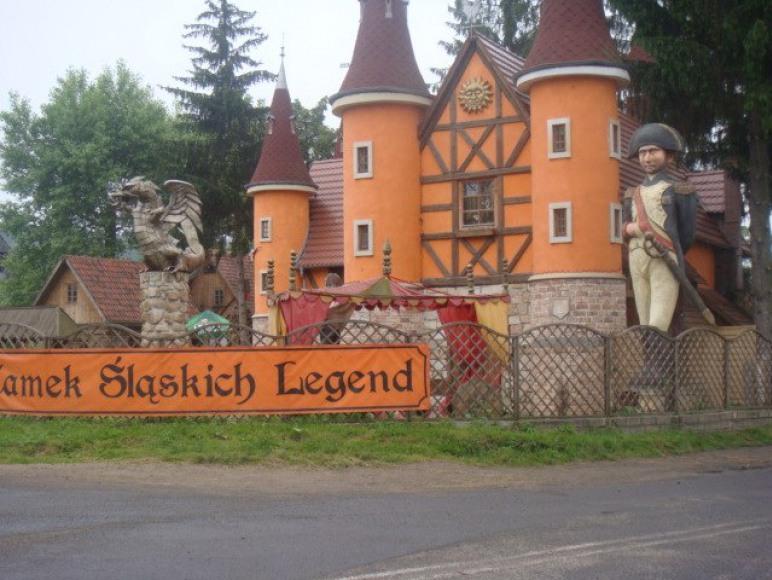Zamek legend Slaskich
