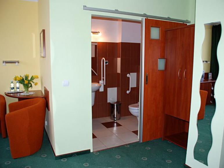Pokój Studio dla osób niepełnosprawnych