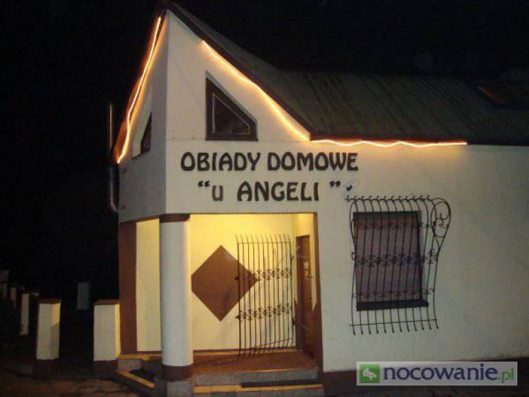 wejście do Restauracji U Angeli