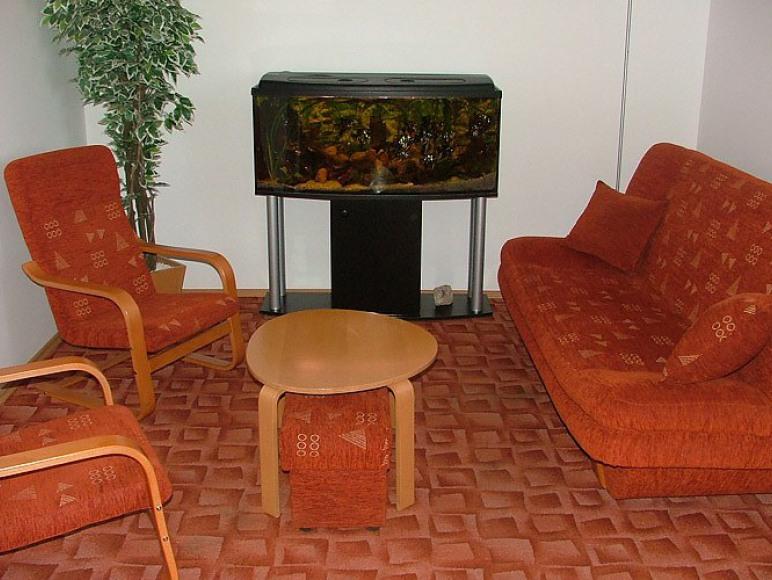 Część wypoczynkowa sali konferencyjnej