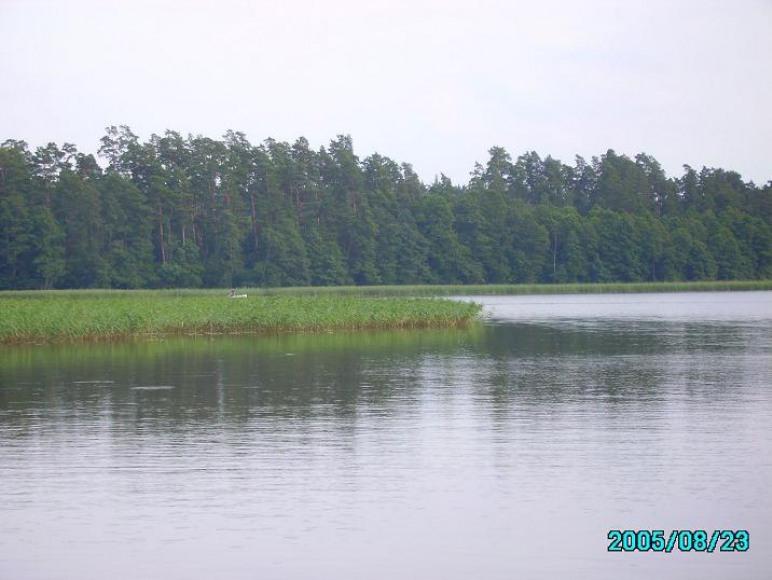 Domek nad jeziorem Pomorze w Kuklach