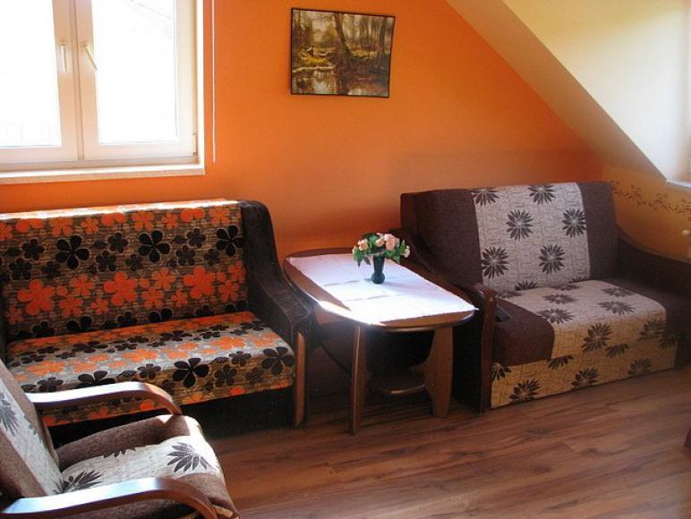 pokój pomarańczowy