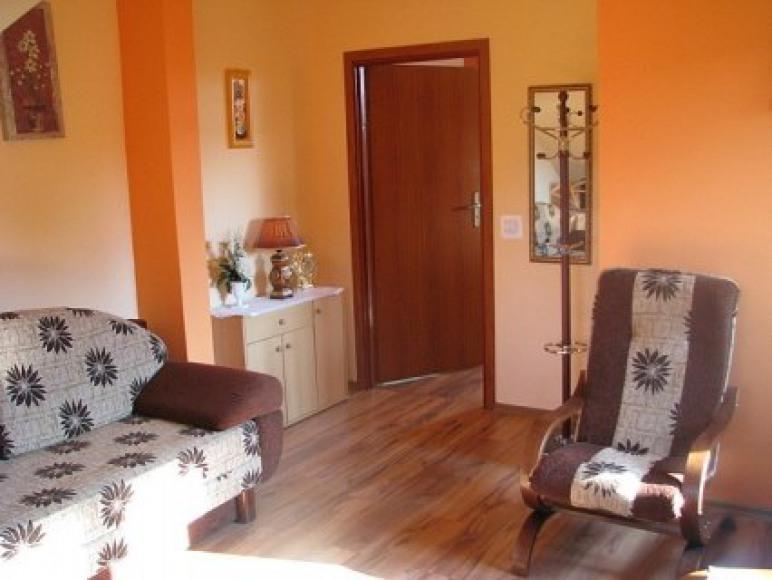 pokoj pomarańczowy