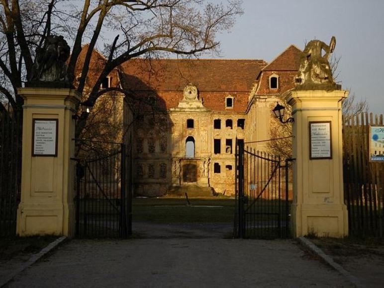 Pałac Bruhla w Brodach