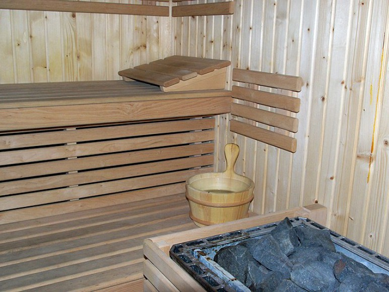 Sauna w Domku Myśliwskim