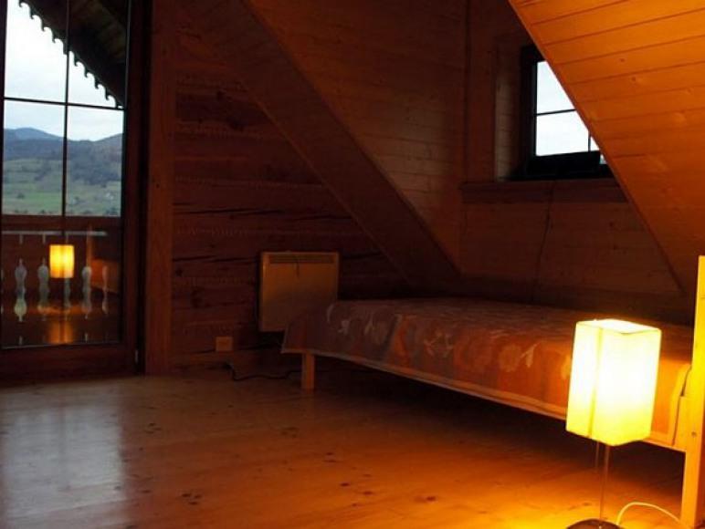 Komfortowe pokoje na górze z pięknym widokiem