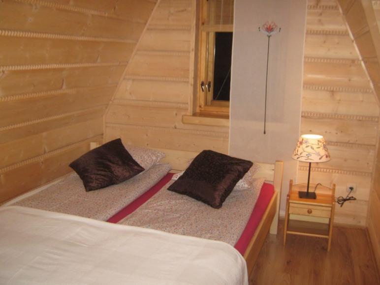 Sypialnia w apartamencie
