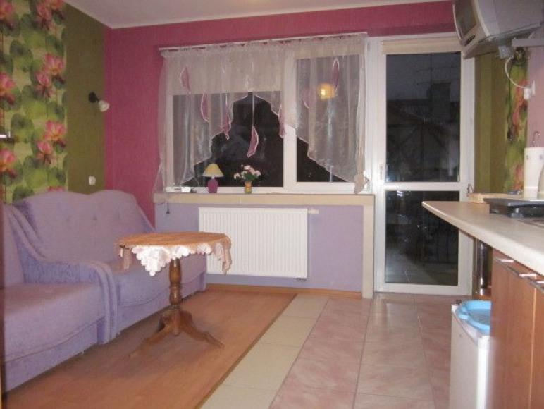 apartament lilowy