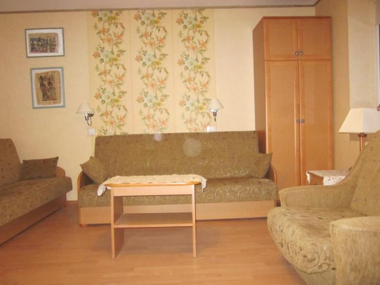 apartament egipski-sypialnia