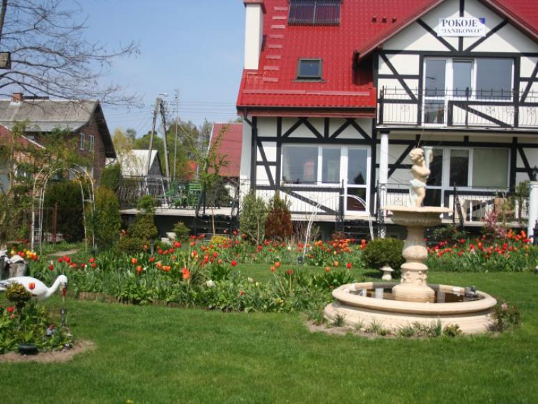 ogród wypoczynkowy