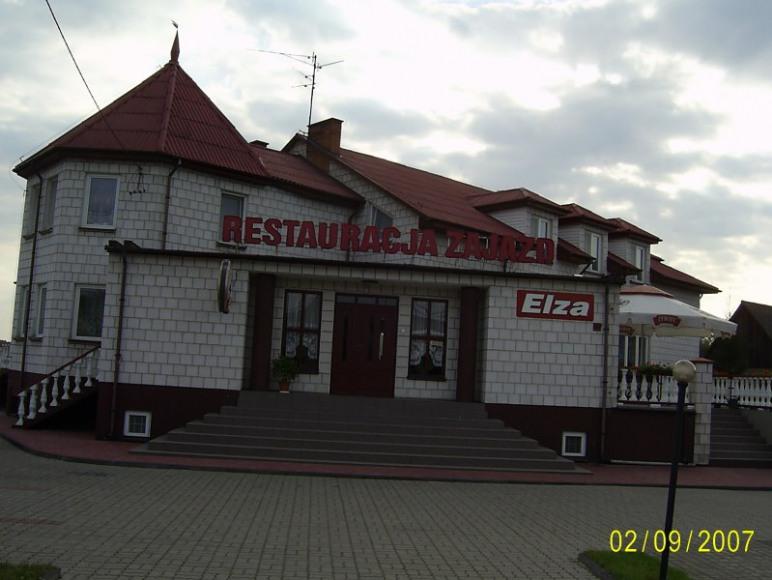 Budynek restauracji