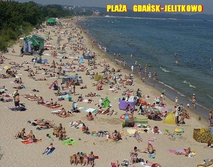 Plaża Gdańsk Jelitkowo