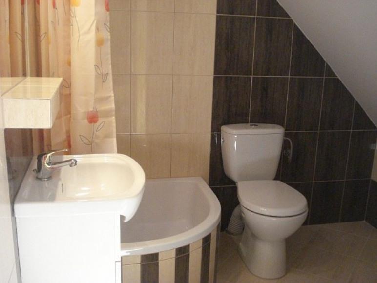 łazienka w apartamencie