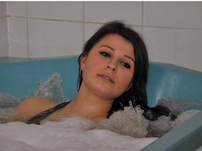 wspaniała kąpiel