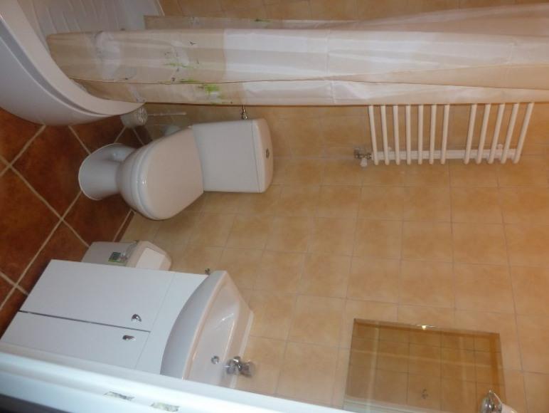 Standardowa łazienka w obiekcie.