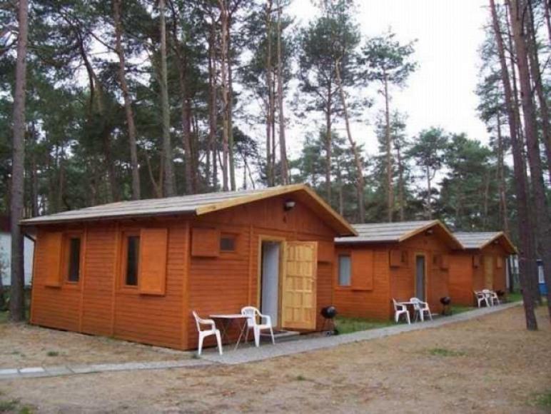 Domki 2-pokojowe z łazienkami,