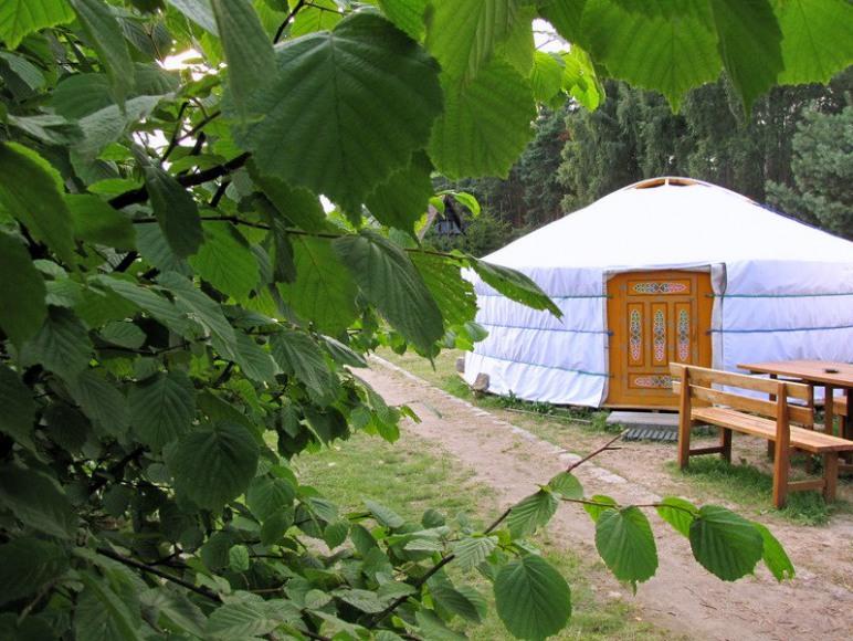 domek okrągły - jurta mongolska 6 osobowa