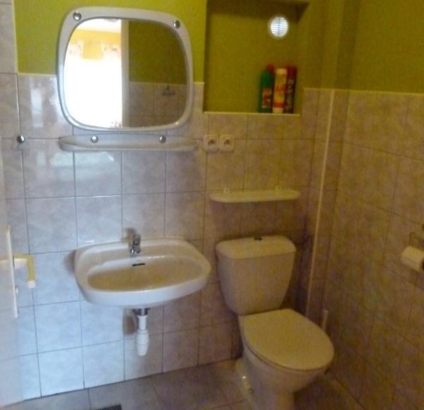 Przykładowa łazienk w pokojach