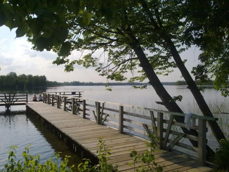 jezioro -pomost