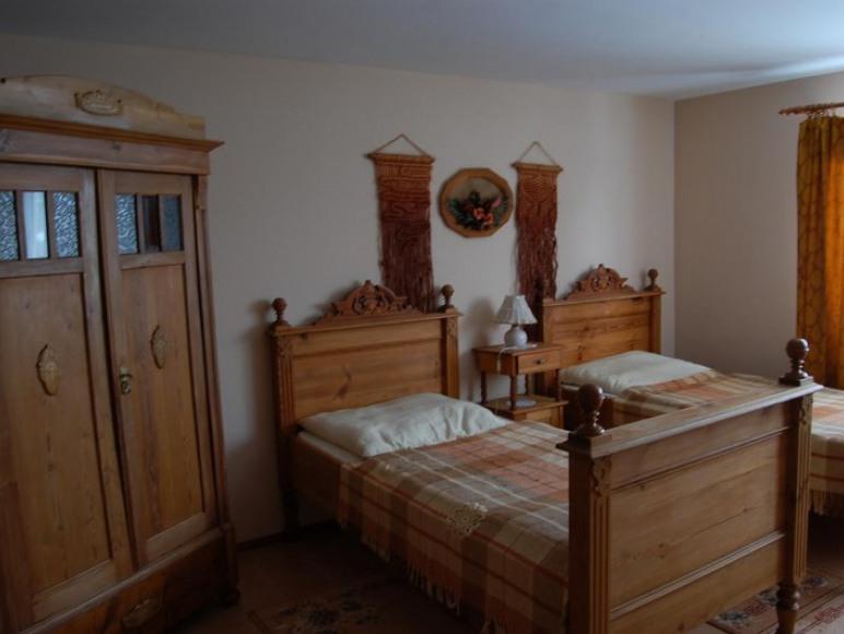 Sypialnia w Dużym Apartamencie