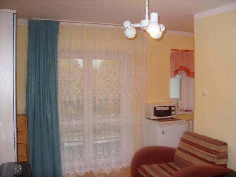 apartament zółty