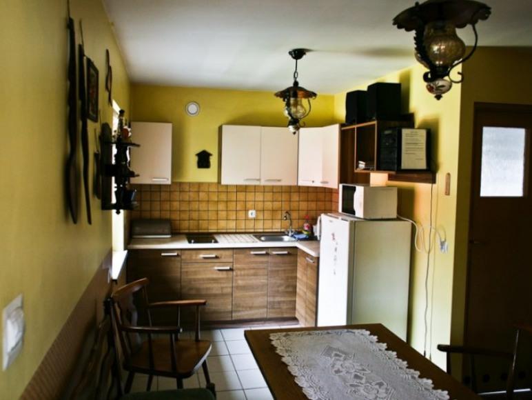 Domek Karolinka -kuchnia z jadalnią