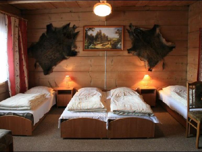 pokój w drewnianej części