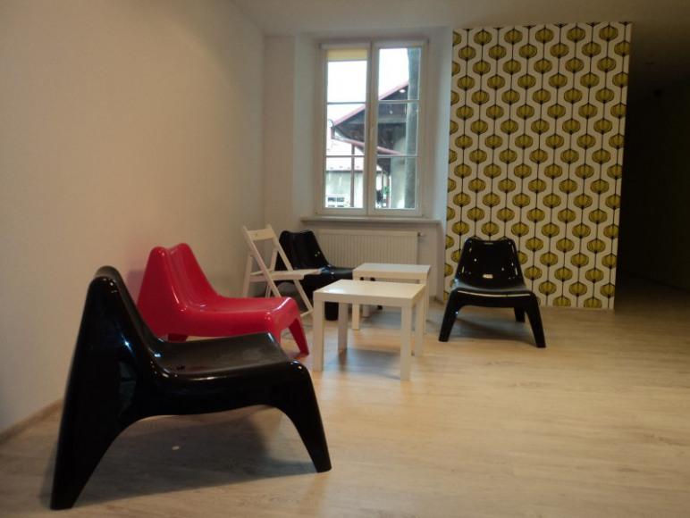 Folk Hostel, pokój wspólny