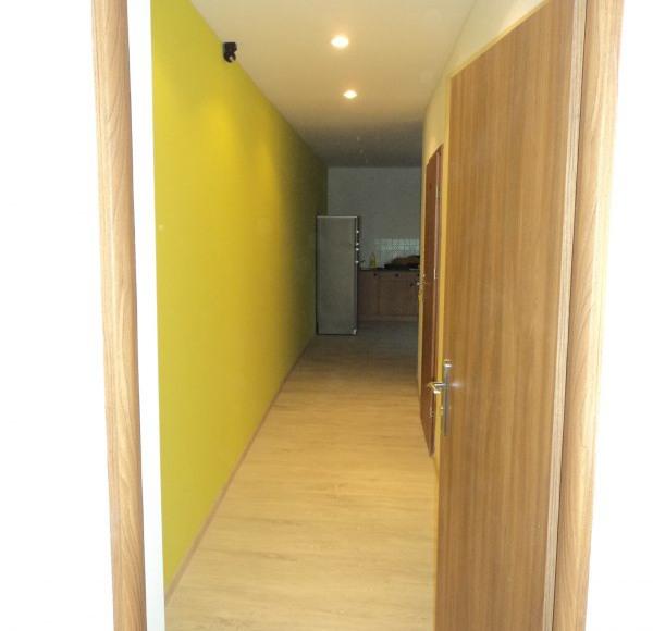 Folk Hostel, korytarz
