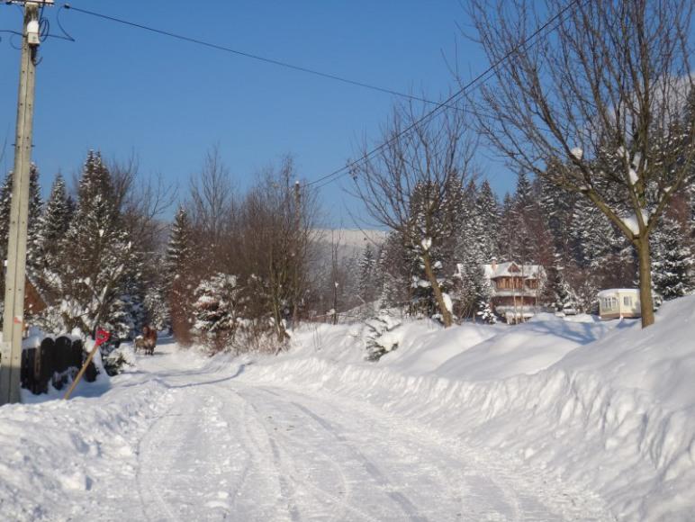 Zima w Łopusznej-zawsze piękna,zawsze biała,zawsze czysta
