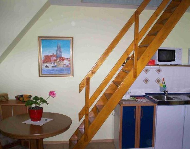Pokoj Studio(4-osob) z aneksem kuchenny
