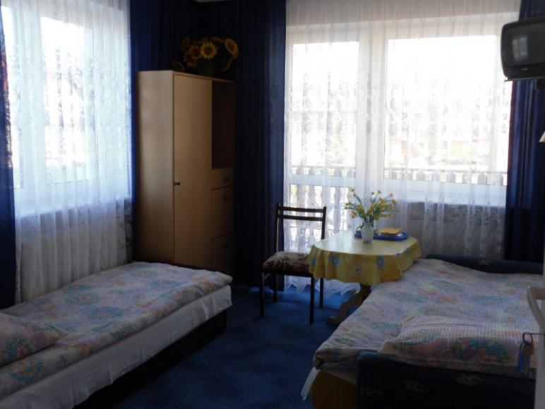 Pokój 3-4 osobowy z balkonem