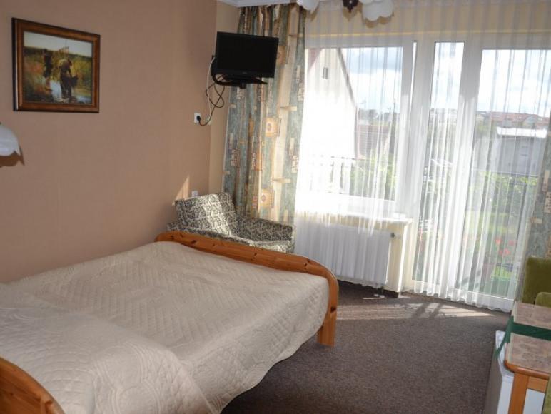 pokój 2 os. z balkonem