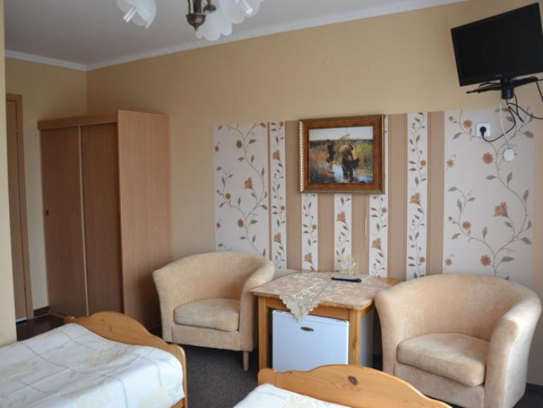pokój 2 os z balkonem