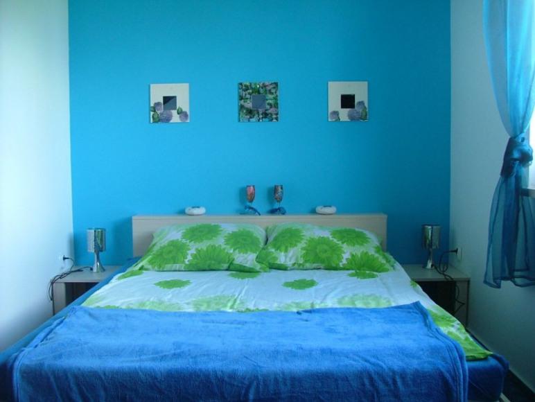 Pokój 4 osobowy Niebieska Hortensja