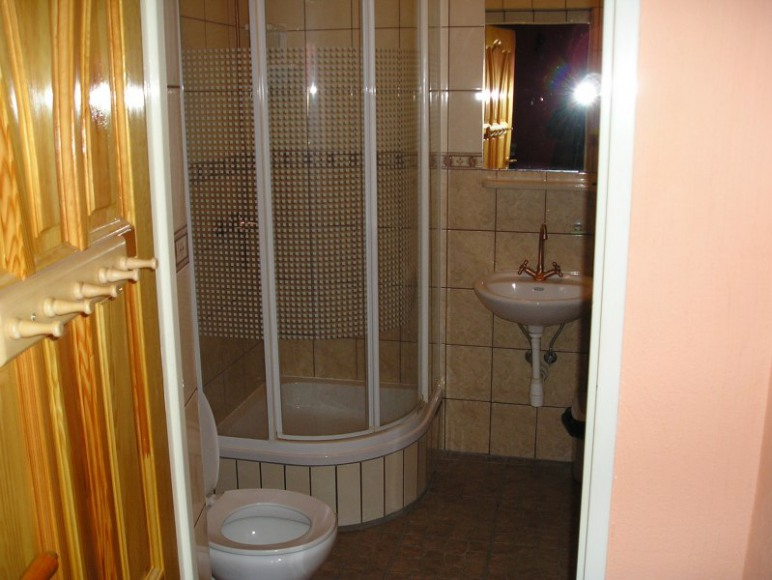Łazienki we wszystkich pokojach