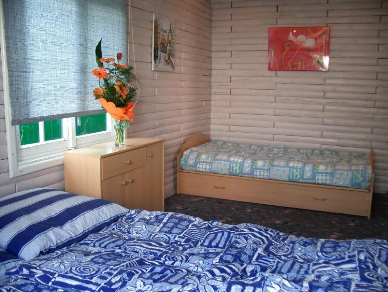 """Domek """"Niebieski"""" - sypialnia"""