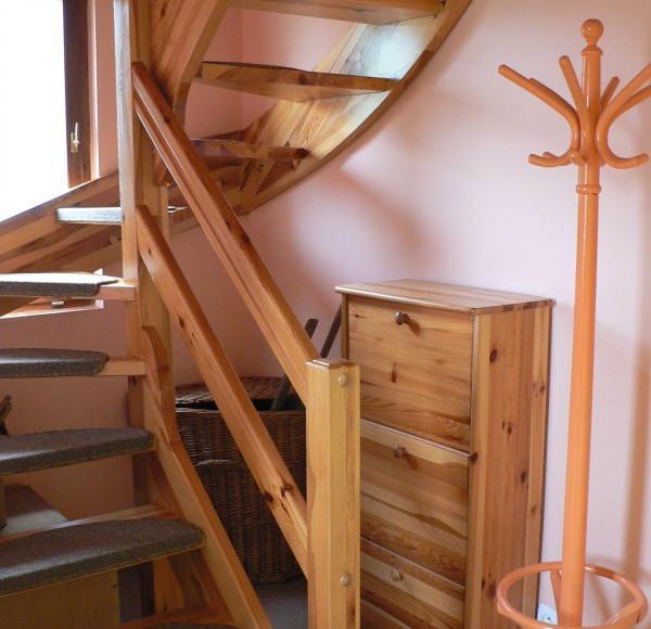 Schody na piętro.