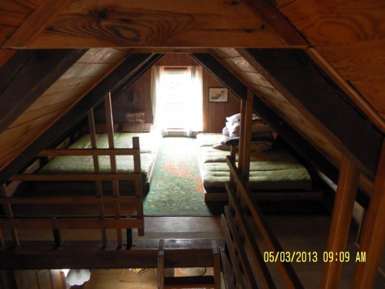 sypialnia u góry