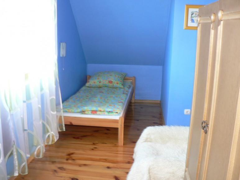 """Pokój """"niebieski""""."""