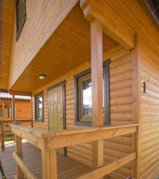 Komfortowy domek drewniany