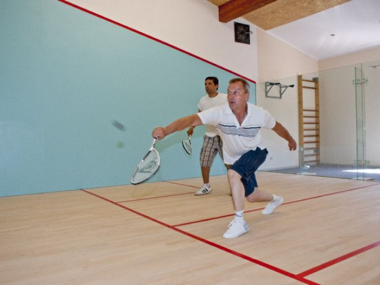 aktywny wypoczynek squash